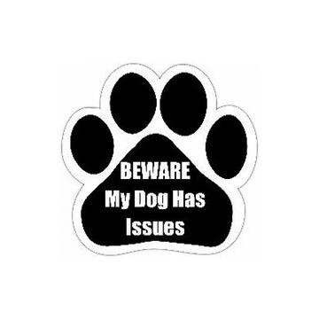 Pet Magnet - Beware My Dog Has Issues