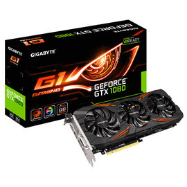 Gigabyte GeForce GTX 1080 G1 Gaming Video Card - 8GB