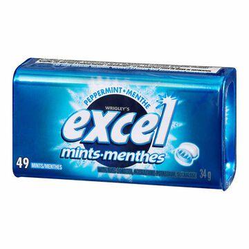 Excel Mints - Peppermint - 34g