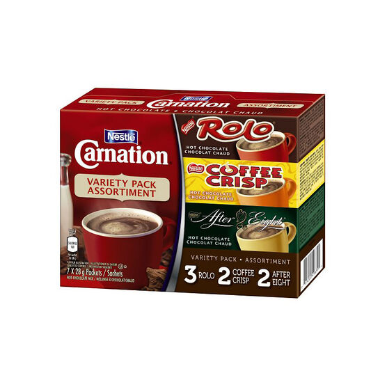 Nestle Carnation Variety Pack - 7 x 28g