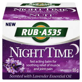 RUB A535 Night Time Balm - Lavender - 50g