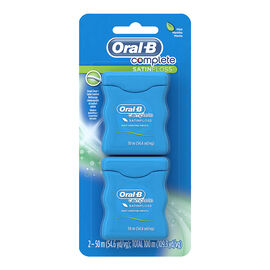 Oral-B Complete SatinFloss - 2 x 50m