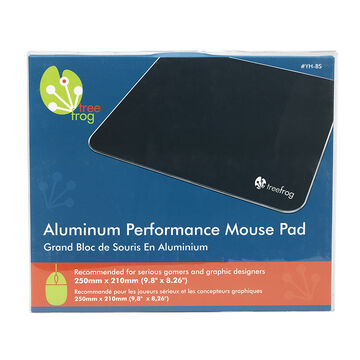 Tree Frog Aluminum Performance Mouse Pad - 9.8 x 8.26inch - YH-BS