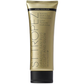 St. Tropez Gradual Tan Plus Sculpt and Glow Body Lotion - 200ml