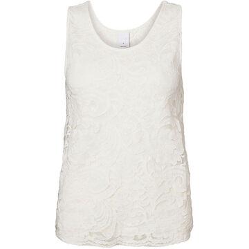 Vero Moda Bloomy Sleeveless Top - White