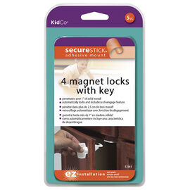 KidCo Magnet Lock Set - 4 locks - S3365