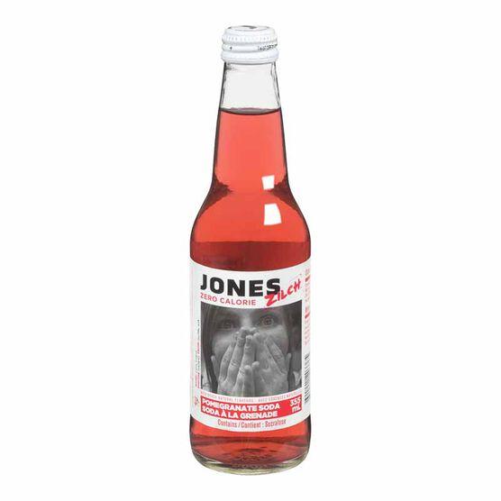 Jones Zilch Soda - Pomegranate - 355ml