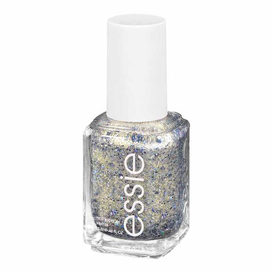 Essie Encrusted Treasures Nail Lacquer - On a Silver Platter