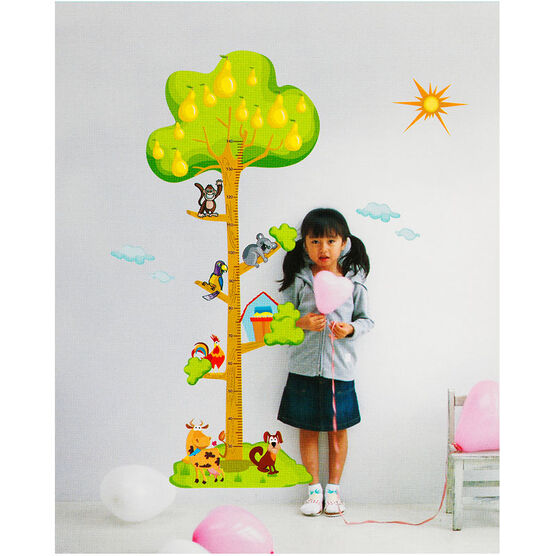 Growth Chart - Animals in Tree