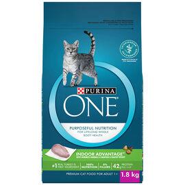 PURINA ONE Smartblend Cat Food - Indoor - 1.8 kg