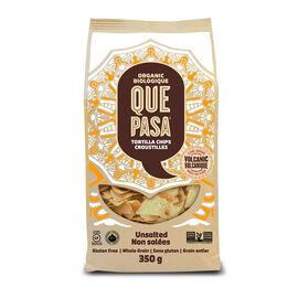 Que Pasa Tortilla Chips - Unsalted - 350g