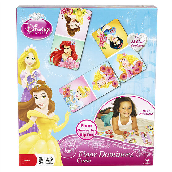 Princess Floor Dominoes Game