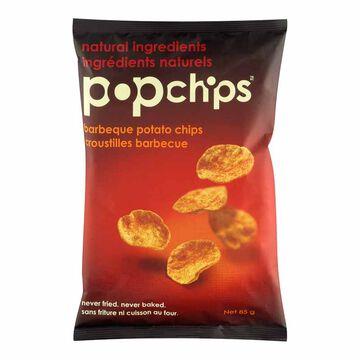Popchips Popped Chip Snack - BBQ - 85g