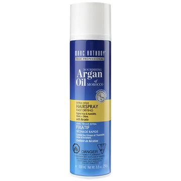Marc Anthony Oil of Morocco Argan Oil Hairspray - Volume Shine - 250g