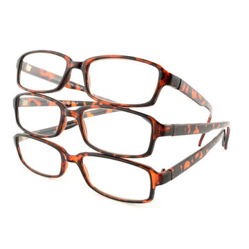 Foster Grant Hadley Reading Glasses - Tortoiseshell - 2.50