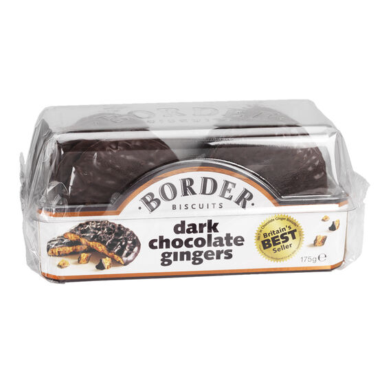 Border Biscuits - Dark Chocolate Gingers - 175g