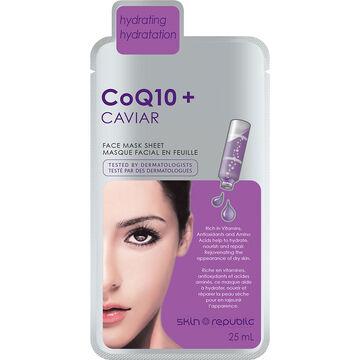 Skin Republic CoQ10 + Caviar Face Mask Sheet - 25ml