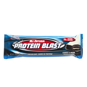 BioX Protein Blast Bar - Cookies & Cream -  72g