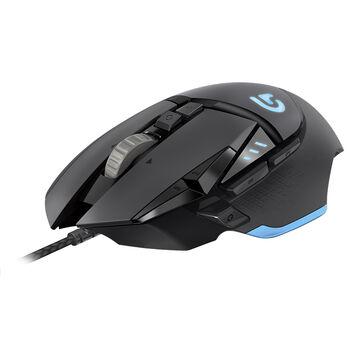 Logitech G502 Gaming Mouse - Black - 910-004074