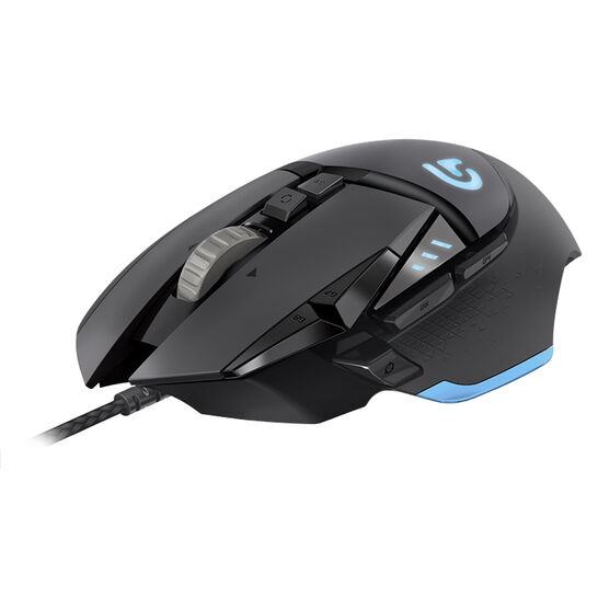 Logitech G502 Gaming Mouse - Black - 910-004074