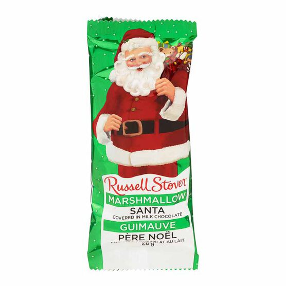 Russel Stover Marshmallow Santa - 28g
