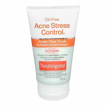 Neutrogena Oil-Free Acne Stress Control Power Clear Scrub - 125ml