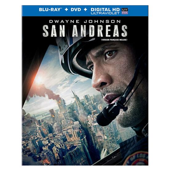 San Andreas - Blu-Ray + DVD