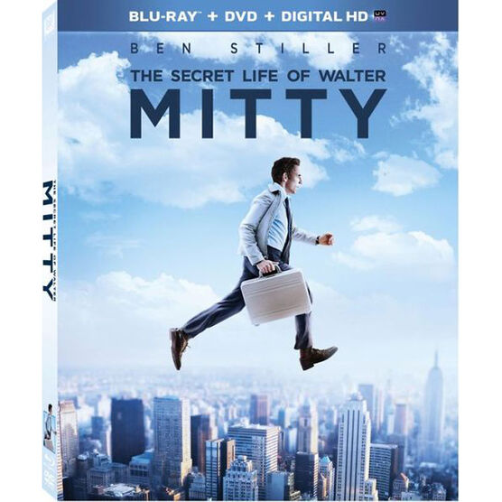 The Secret Life of Walter Mitty - Blu-ray Combo