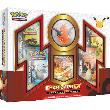 Pokemon Red & Blue Charizard Exbox