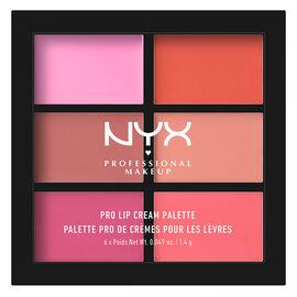 NYX Professional Makeup Lip Cream Pallete