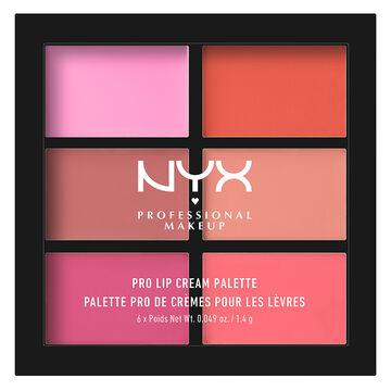 NYX Pro Lip Cream Palette - Pink