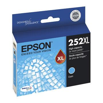 Epson T252XL Ink Cartridge - Cyan - T252XL220-S