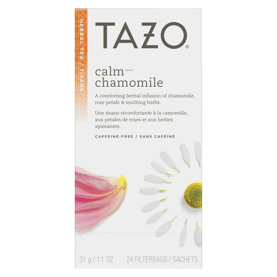 Tazo Calm Herbal Infusion - 24's