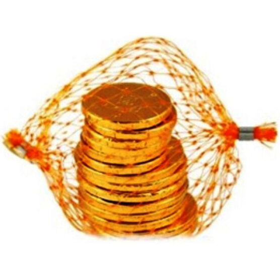 Crest Chocolate Coins In Net - 50g