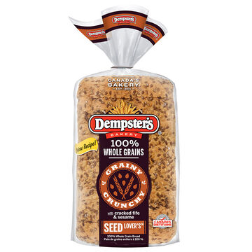Dempsters Wholegrain Seed Lover's Bread - 600g