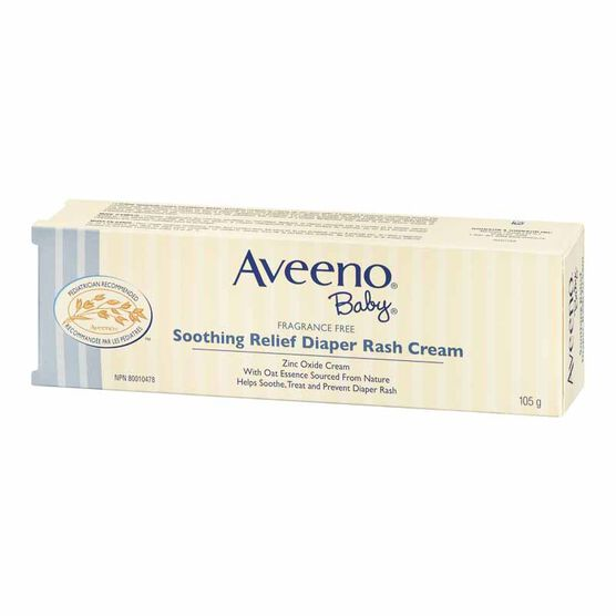 Aveeno Baby Soothing Relief Diaper Rash Cream - 105g