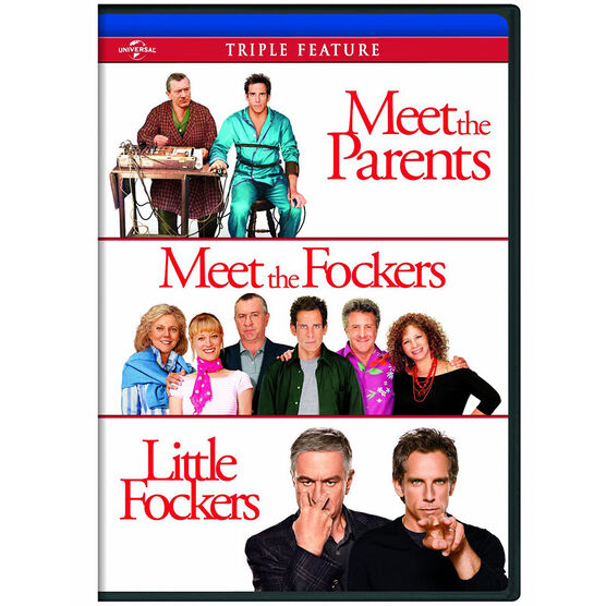 Meet the Parents / Meet the Fockers / Little Fockers - DVD