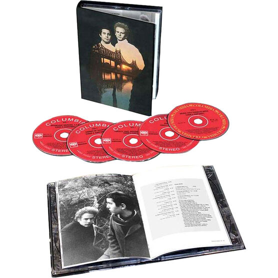 Simon & Garfunkel - The Columbia Studio Recordings (1964-1970) Box Set - 5CD + Book