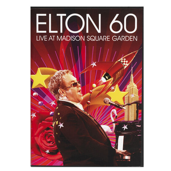 Elton John: Elton 60 - Live At Madison Square Garden - DVD