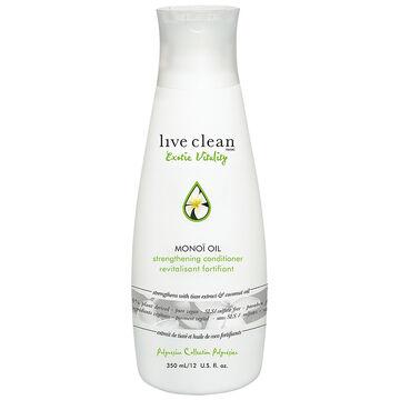 Live Clean Exotic Vitality Monoi Oil Conditioner - 350ml