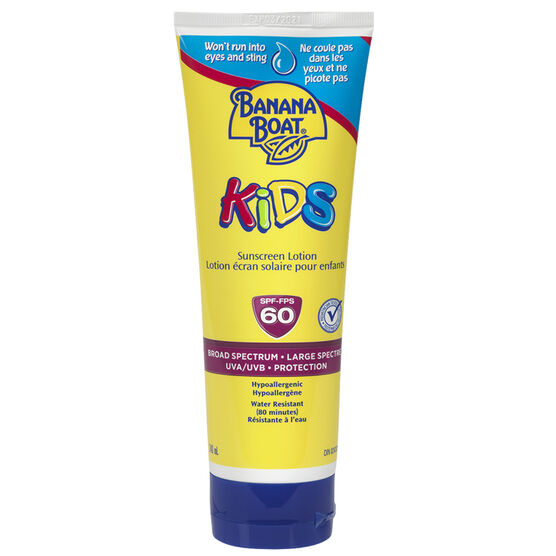 Banana Boat Kids Sunscreen Lotion - SPF 60 - 240ml