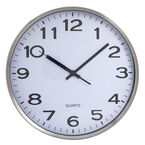 London Drugs Wall Clock - Chelsea - Metal/White