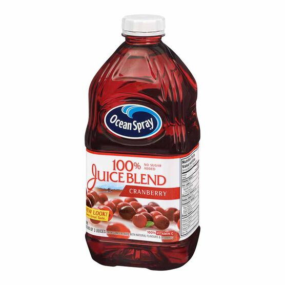 Ocean Spray 100% Juice Blend - Cranberry - 1.89L