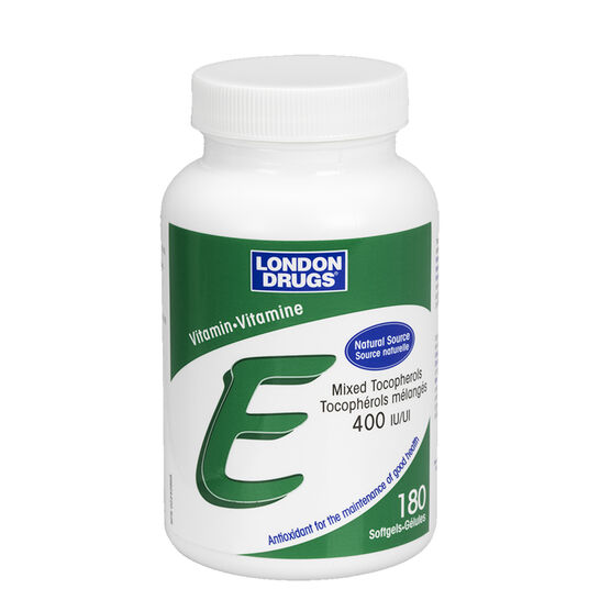 London Drugs Vitamin E - 400IU - 180's