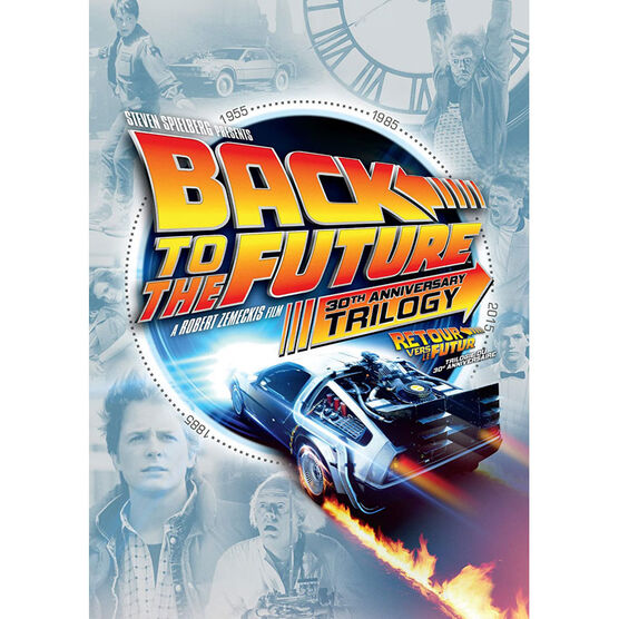 Back To The Future Trilogy: 30th Anniversary Edition - DVD
