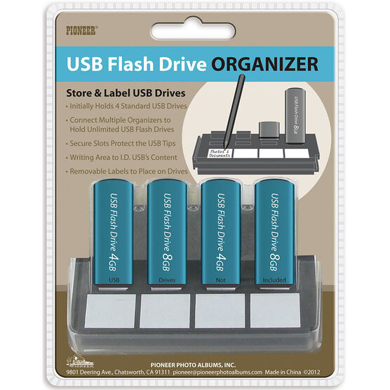 Pioneer USB Flash Drive Organizer - USB-4