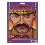 Halloween Cowboy Moustache
