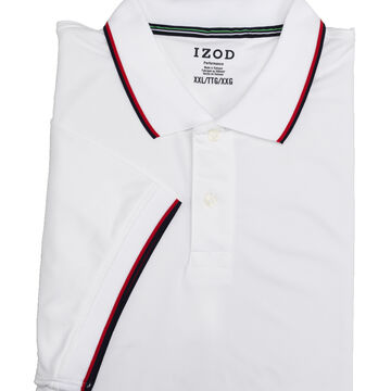 Izod Men's Solid Colour Performance Polo - Assorted - Sizes S-XXL