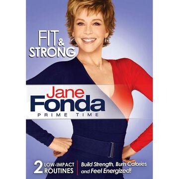 Jane Fonda Prime Time Fit & Strong - DVD
