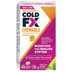 Cold-FX Chewable - Orange - 45's
